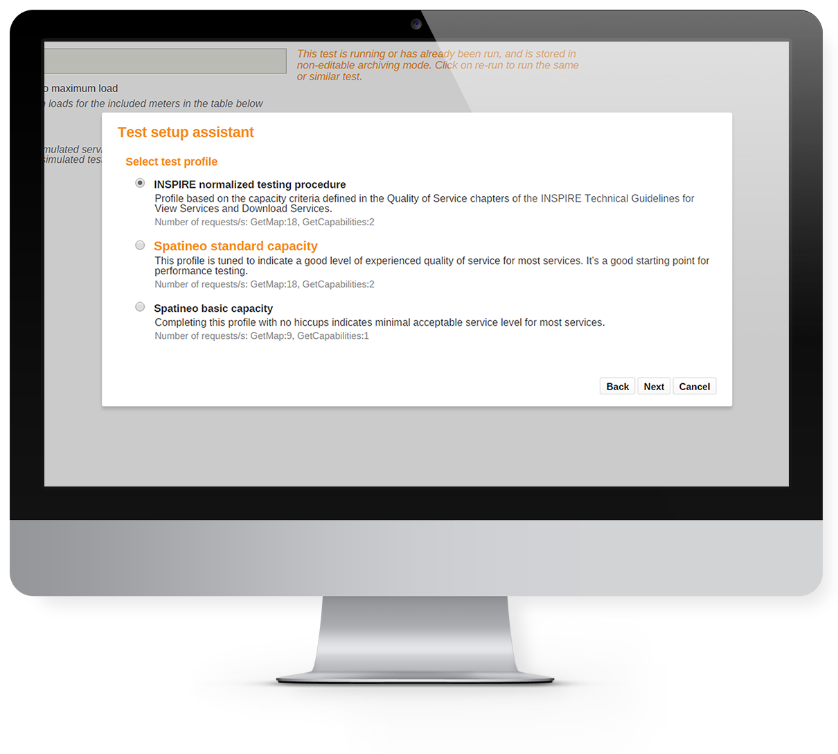 Ensure compliance with capacity requirements