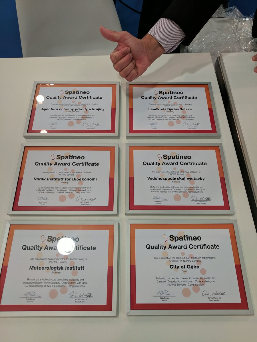 Spatineo_Quality_Awards_Certificates