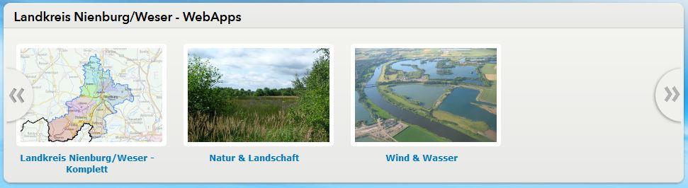 Landkreise Nienburg/Weser geoportal maps