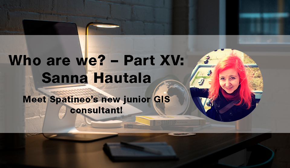 Sanna Hautala Spatineo GIS Junior Consultant 2018