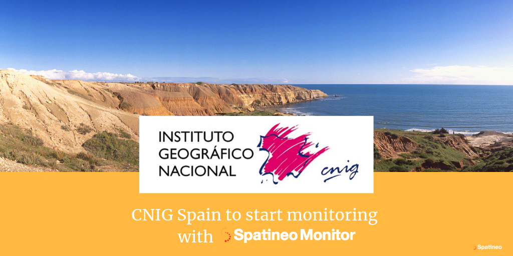 National Centre of Geographic Information (CNIG) of Spain to start monitoring with Spatineo