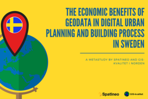 The economic benefits of geodata in digital urban planning and building process featured